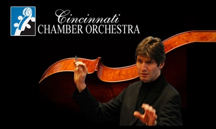"Cincinnati Chamber Orchestra - CUF: $12 for One Orchestra-Level Ticket to the Cincinnati Chamber Orchestra's ""Spring 2"" Schoenberg & Gershwin Concert on Sunday, June 6, at 2 p.m. ($25 Value)"