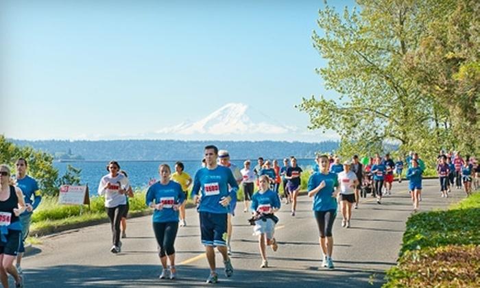 Shore Run/Walk: $15 for Adult Registration for the Shore Run/Walk 5K or 10K on June 12 ($30 Value)