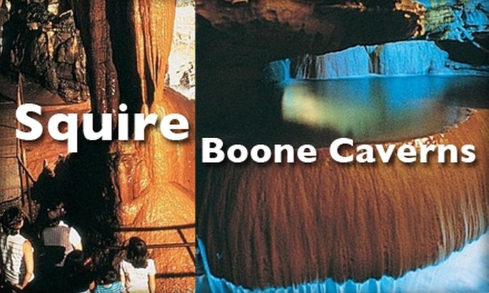 Squire Boone Caverns - Heth: Half-Price Ticket to a Guided Cave Tour at Squire Boone Caverns. Choose from an Adult Ticket for $7 ($14.50 Value) or a Child Ticket for $4 ($8 Value).