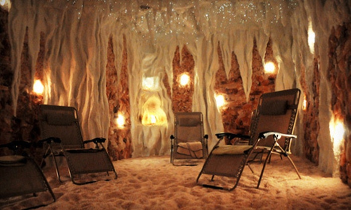 Timeless Day Spa & Salt Cave - Naperville: Salt-Cave Visit or Facial with Photo Rejuvenation at Timeless Day Spa & Salt Cave in Naperville (Up to 67% Off)