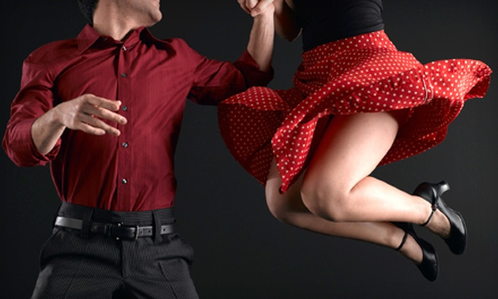 Simply Ballroom - Park East Inc.: Five-Month Dance-Instruction Package for One or Two or One Month of Dance Classes at Simply Ballroom (Up to 72% Off)