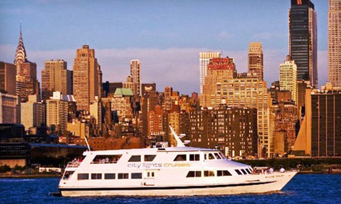 Yacht Party Cruises - New York: $48 for a Three-Hour Party Cruise with Buffet Dinner and Drinks from Yacht Party Cruises (Up to $96.50 Value)