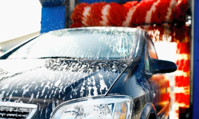 רשת אוטוקר - מספר סניפים: רשת אוטוקר: שטיפת רכב חיצונית ופנימית + קצף וקס ב-35 ₪ בלבד, למימוש ב-6 סניפים ברחבי הארץ