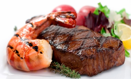 $15 for $30 Worth of Surf 'n' Turf Cuisine and Drinks at Nick's Steak and Seafood