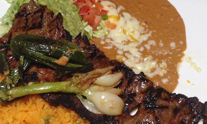 Mi Cancun Falls of Neuse - North Raleigh: Mexican Food for Lunch or Dinner at Mi Cancun Falls of Neuse(Up to 40% Off). Three Options Available.