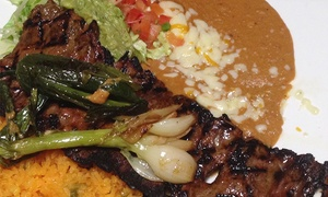 Mi Cancun Falls of Neuse: Mexican Food for Lunch or Dinner at Mi Cancun Falls of Neuse(Up to 53% Off). Three Options Available.