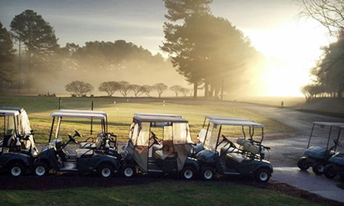 Pine Hill Country Club - Choccolocco: 18 Holes of Golf with Cart Rental and Range Balls for Two or Four at Pine Hill Country Club (Up to 52% Off)