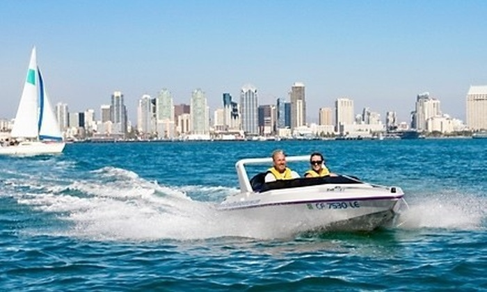 Speed Boat Adventures - Downtown: $64 for a Harbor Tour for Two from Speed Boat Adventures ($129.80 Value)