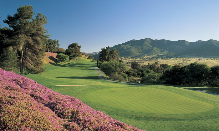 Pala Mesa Golf Course - Fallbrook, CA: Golf Round, Cart Rental, and Range Balls for One or Two at Pala Mesa Golf Course (Up to 51% Off)