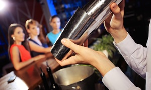 Big Dreams Entertainment Inc: 35-Hour Bartending Certificate Course from Big Dreams Entertainment Inc (45% Off)