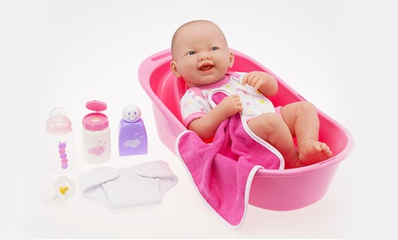 La Newborn Realistic Doll Gift Sets. Two Options from $13.99–$25.99.