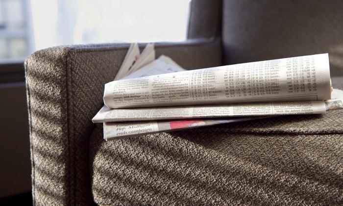 """Stillwater Gazette: Six-Month or One-Year Subscription to the """"Stillwater Gazette"""" (61% Off)"""