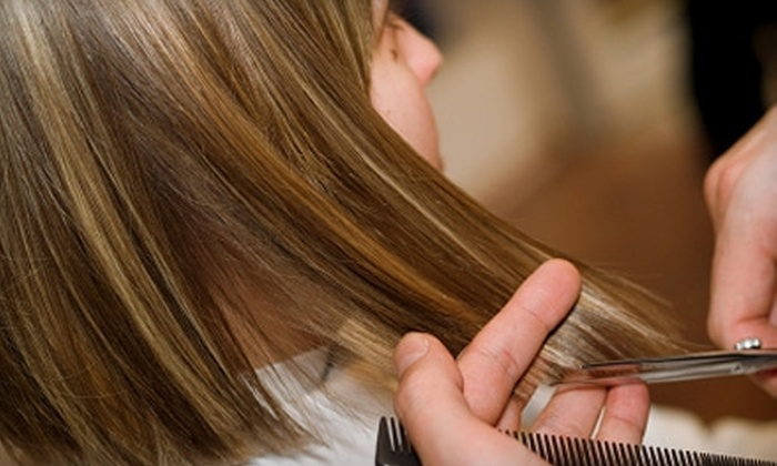 Allure Salon - Glens Falls: $30 for a Haircut, Color, and Facial Waxing at Allure Salon ($75 Value)
