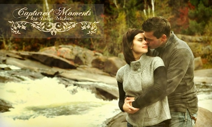Captured Moments - Chelmsford: $25 for an In-Studio or Outdoor Photo Session and Prints at Captured Moments by Julie Mckee ($149 Value)
