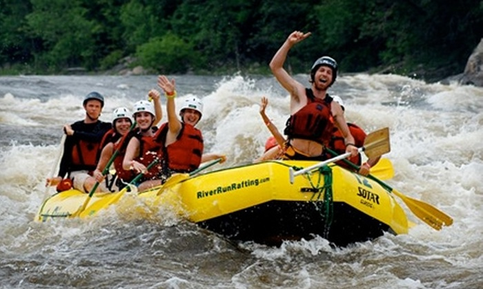 RiverRun Rafting & Wilderness Resort - Foresters Falls: $50 for One Ticket to 12-Passenger High-Adventure Raft Trip from RiverRun Rafting & Wilderness Resort in Foresters Falls (Up to $135 Value)