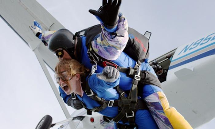 Start Skydiving - Middletown: $119 for a Tandem Jump with Start Skydiving in Middletown ($259 Value)