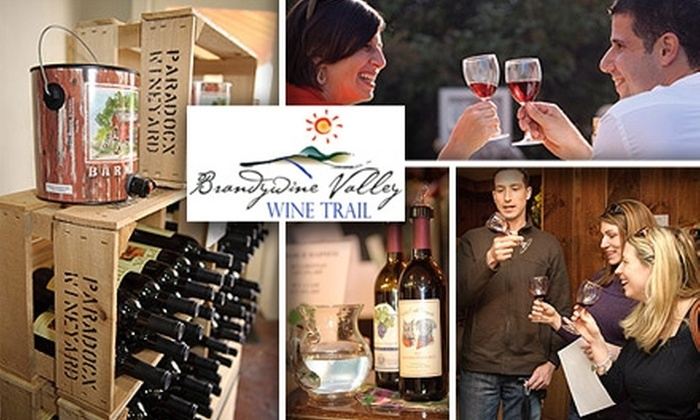 Brandywine Valley Wine Trail - Multiple Locations: $12 for a Barrels on the Brandywine Passport from Brandywine Valley Wine Trail ($25 Value)