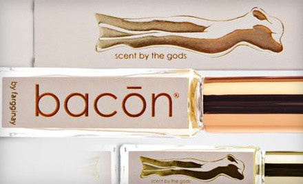 Bottle of Bacon Gold by Fargginay (a $48 value) - Bacon by Fargginay in