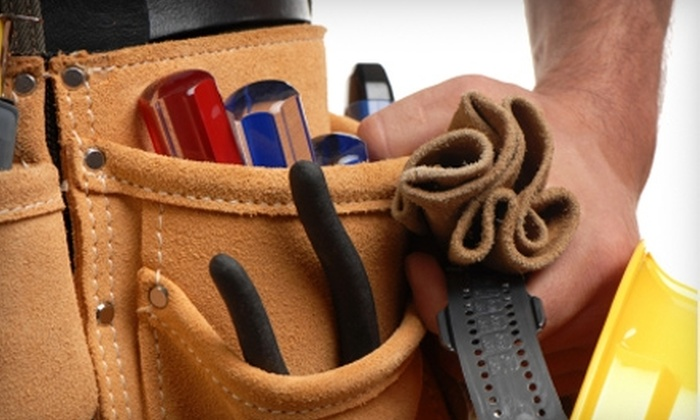 Builderhaus - Tulsa: $25 for Two Hours of Handyman Services from Builderhaus ($100 Value)