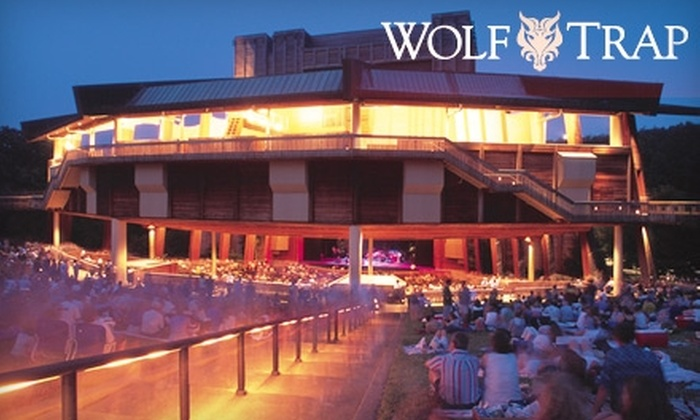 """Wolf Trap - Wolf Trap: $10 for a Lawn Ticket to """"Mamma Mia!,"""" """"Guys and Dolls,"""" or """"Peter Pan"""" at Wolf Trap (Up to $25 Value). Multiple Dates Available."""