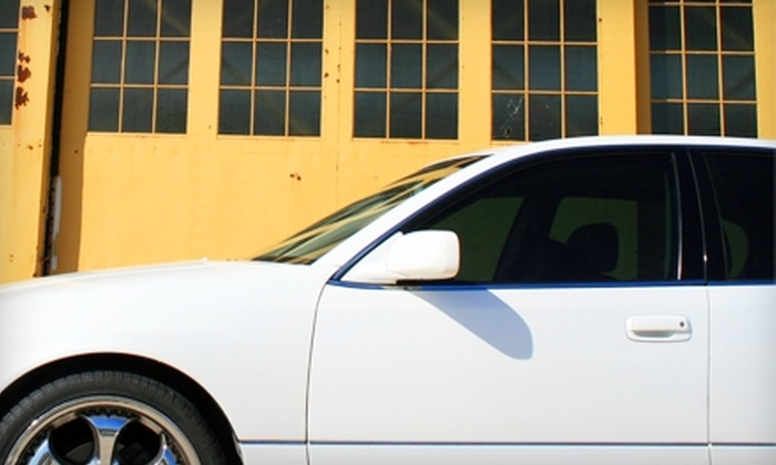 Polished Image Detail & Tint - Homestead: $79 for Window Tinting at Polished Image Detail and Tint at Waterfront Auto Complex in Homestead ($200 Value)