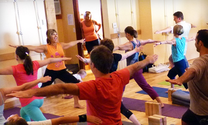 Kelowna Yoga House - Central City: $35 for Six Yoga Classes at Kelowna Yoga House (Up to $78 Value)