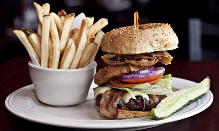 Fore River Grille - North Weymouth: Burgers, Seafood and Pub Fare at Fore River Grille in North Weymouth (Up to 56% Off). Three Options Available.