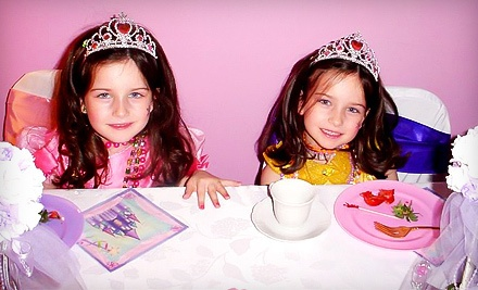 90-Minute Kids' Party for Six Girls Aged 39 (a $250 value) - Sweet Little Parties in