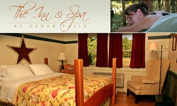 Inn and Spa at Cedar Falls - Benton: $110 for a One-Night Stay at the Inn & Spa at Cedar Falls, $25 Spa Gift Certificate, and More