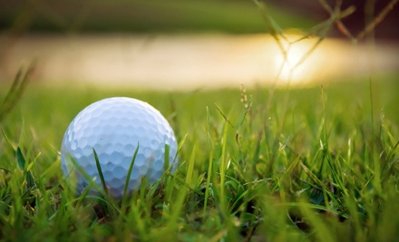 18 Holes of Golf for 2, a Golf Cart, and 2 Small Buckets of Balls: Valid Monday-Thursday (up to a $76 value) - Lemoore Golf Course in Lemoore