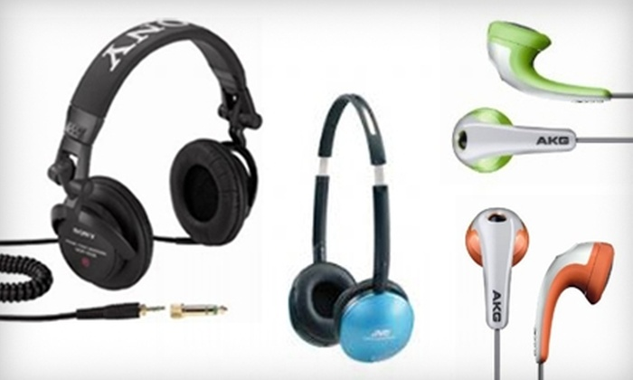Capital Audio - Tribeca: $20 for $45 Toward Headphones at Capital Audio