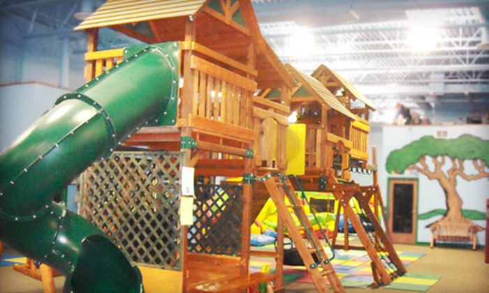 Lost in Fun - Lazy Acres: 10-Session Children's Indoor-Playground Outings at Lost in Fun (Up to 58% Off). Three Options Available.
