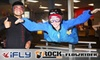 iFLY, Flowrider, and iRock - Ogden: $49 for an Indoor Skydive at iFly, One-Hour Indoor-Surfing Session at Flowrider, and One-Day Rock-Climbing Admission at iRock in Ogden