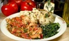 Up to 54% Off Italian Dining Experience With Wine or Beer for Two at Goodfellas