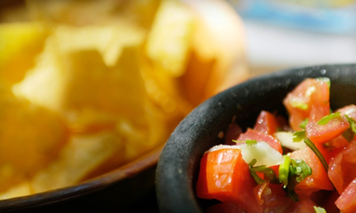 Cinco de Mayo Amigos Cantina - Multiple Locations: Two-Course Lunch for Two or $5 for $10 Worth of Mexican Fare at Cinco de Mayo Amigos Cantina