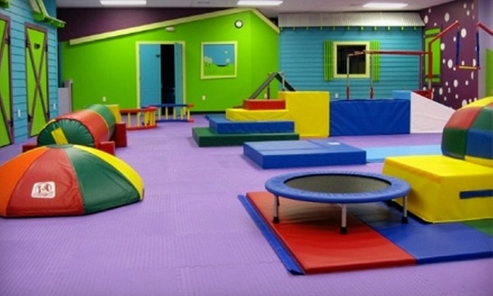 Romp n' Roll - Lynchburg: $35 for 10-Session Kids' Open-Gym Pass to Romp n' Roll (Up to $70 Value)