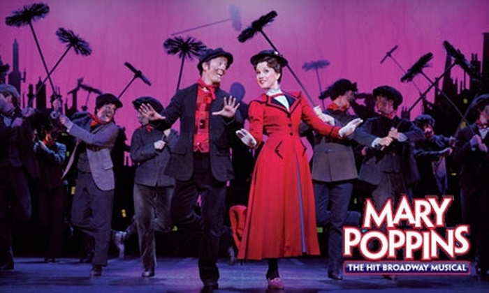 "<i>Mary Poppins</i> - Downtown Indianapolis: $39 for One Ticket to Disney and Cameron Mackintosh's ""Mary Poppins"" Musical ($67 Value). Choose from Five Show Dates."