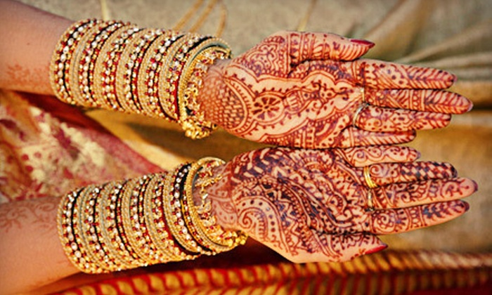 Henna by Art Versatile - Liberty: Henna Party, Bridal Package, Class, or Application Session from Henna by Art Versatile (Up to 57% Off). Six Options Available.
