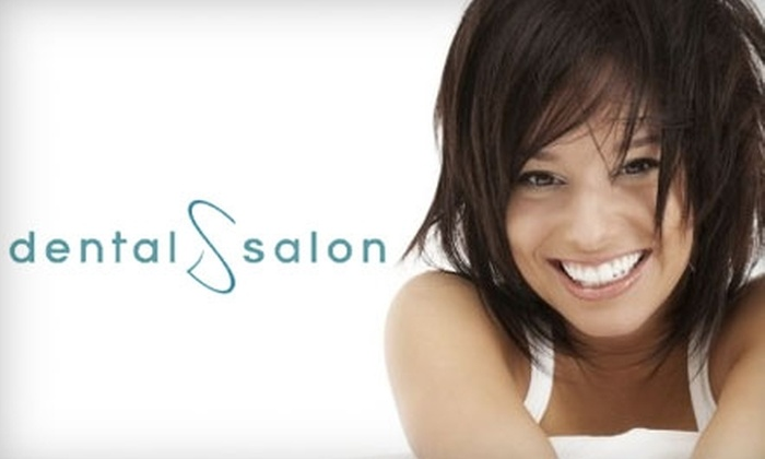 Dental Salon - DePaul: Exam, X-Rays, and Cleaning or In-Office Whitening from Dental Salon. Choose from Two Options.