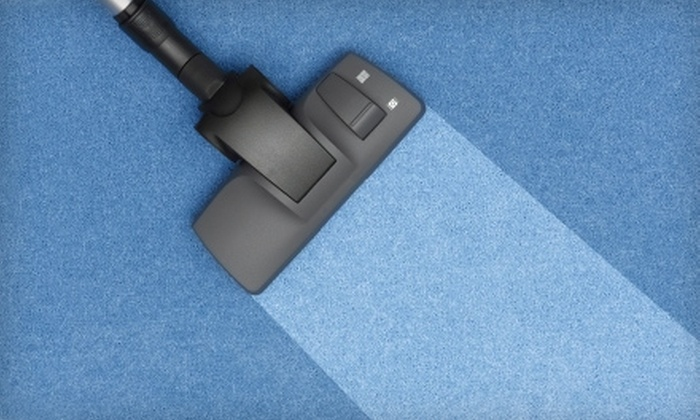 Red Dog Carpet Cleaning - Yankee Hill: $45 for a Carpet Cleaning in Two Rooms and One Hallway from Red Dog Carpet Cleaning ($100 Value)