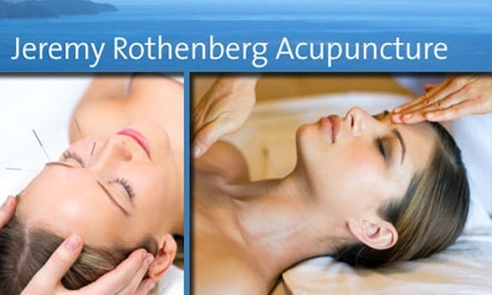 Jeremy Rothenberg Acupuncture - San Francisco: $49 for Either a Full Acupuncture Treatment or Tui Na Massage at Jeremy Rothenberg Acupuncture (Up to $110 Value)