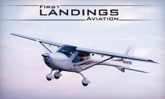 First Landings Aviation - Apopka: $60 for Half Hour Discovery Flight and DVD from First Landings Aviation (a $99 value)