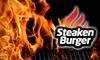 SteakenBurger - North Mountain: $7 for $15 Worth of Casual Fast Fare from SteakenBurger