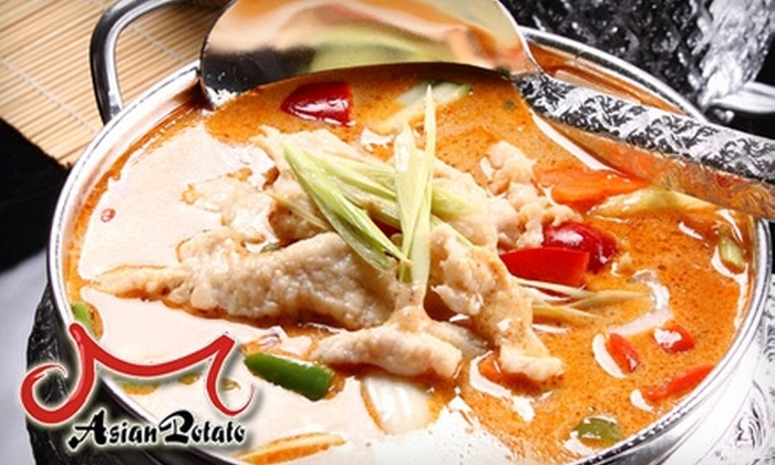 Asian Potato - Sandy: $10 for $20 Worth of Chinese and Thai Cuisine at Asian Potato