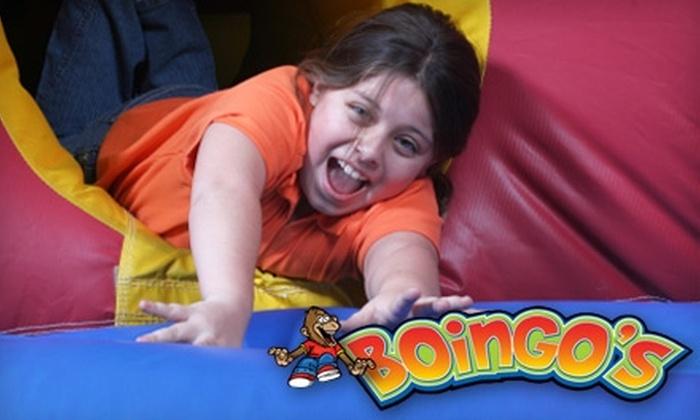 Boingo's Bounce House - Visalia: $137 for a Birthday Party Package at Boingo's Bounce House in Visalia ($275 Value)