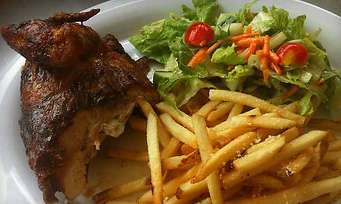 Sauca Grill - Barcroft: International Combo Meals for Two or Four at Sauca Grill in Arlington