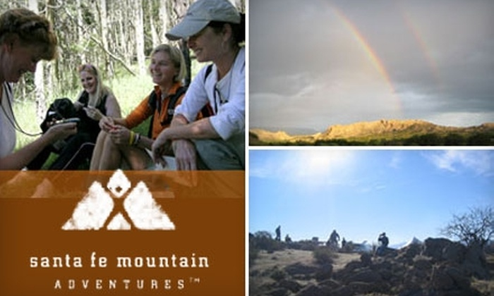Santa Fe Mountain Adventures - Santa Fe: $75 for Two Geocaching Tickets at Santa Fe Mountain Adventures ($170 Value). Choose Friday or Saturday.