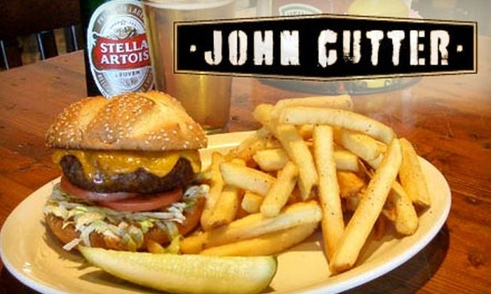 John Cutter - Las Vegas: $15 for $30 Worth of Globally Inspired Cuisine and Cocktails at John Cutter