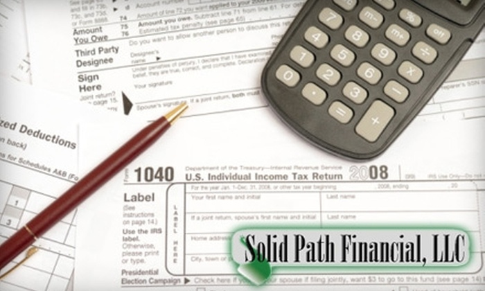Solid Path Financial, LLC - Fort Wayne: $50 for $100 Worth of Tax-Preparation Services at Solid Path Financial, LLC
