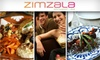 Pacific Hideaway - Huntington Beach: $25 for $50 Worth of Mediterranean Food & Drinks at Zimzala